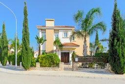 Фасад дома. Кипр, Фиг Три Бэй Протарас : Роскошная вилла с великолепным видом на Средиземное море, с 3-мя спальнями, 2-мя ванными комнатами, с бассейном, солнечной террасой с патио, lounge-зоной и каменным барбекю, расположена недалеко от пляжа Fig Tree Bay
