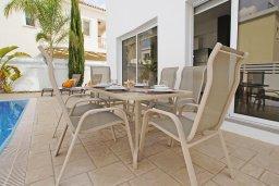 Патио. Кипр, Пернера : Яркая вилла с 3-мя спальнями, 2-мя ванными комнатами, бассейном, солнечной террасой с патио и барбекю, расположена в центре Пернеры