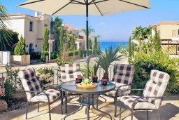 Патио. Кипр, Фиг Три Бэй Протарас : Замечательная вилла с видом на Средиземное море, с 3-мя спальнями, 2-мя ванными комнатами, балконом, солнечной террасой с патио и барбекю