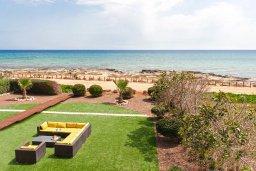 Территория. Кипр, Сиренс Бич - Айя Текла : Великолепная вилла с фантастическим панорамным видом на Средиземное море, с 4-мя спальнями, с бассейном, тенистой террасой с патио и барбекю, расположена на побережье в тихом районе Ayia Thekla