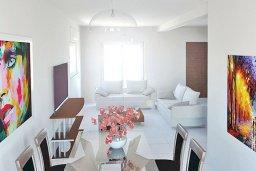 Гостиная. Кипр, Нисси Бич : Современная стильная двухэтажная вилла с 4-мя спальнями, с барбекю и большим бассейном