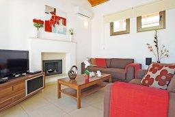 Гостиная. Кипр, Ионион - Айя Текла : Очаровательная вилла с двумя спальнями, с прекрасным бассейном и ухоженным садом