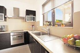 Кухня. Кипр, Каппарис : Удивительная вилла с 4-мя спальнями, 3-мя ванными комнатами, бассейном, тенистой террасой с патио и традиционным каменным барбекю, расположена на побережье в Каппарисе