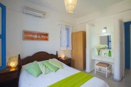 Спальня. Кипр, Санрайз Протарас : Красивый апартамент с 2-мя спальнями, оформленный в традиционном архитектурном стиле Греческих островов