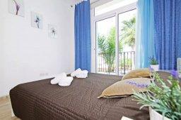 Спальня. Кипр, Фиг Три Бэй Протарас : Двухэтажная вилла с 3-мя спальнями, с беседкой, приватным двориком и барбекю