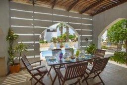 Беседка. Кипр, Санрайз Протарас : Потрясающая двухэтажная вилла с 3-мя спальнями, с частным бассейном, зеленым садом, общим теннисным кортом