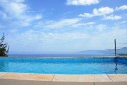 Бассейн. Кипр, Лачи : Современная вилла с 3-мя спальнями, с потрясающим панорамным видом на море, с частным бассейном с подогревом, садом и охраняемой парковкой