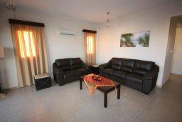 Гостиная. Кипр, Писсури : Очаровательная вилла с 3-мя спальнями для 6-ти человек с бассейном, окруженная ухоженным зеленым садом