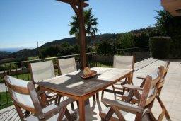 Веранда. Кипр, Писсури : Прекрасная вилла с фантастическим панорамным видом на море с 3-мя спальнями для 6-ти человек