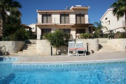 Вид на виллу/дом снаружи. Кипр, Писсури : Прекрасная вилла с фантастическим панорамным видом на море с 3-мя спальнями для 6-ти человек