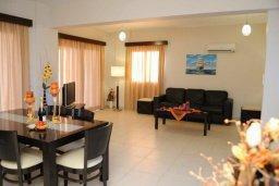 Гостиная. Кипр, Писсури : Прекрасная вилла с фантастическим панорамным видом на море с 3-мя спальнями для 6-ти человек