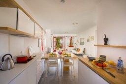 Кухня. Кипр, Санрайз Протарас : Потрясающий апартамент в традиционном греческом стиле с видом на Средиземное море, с 2-мя спальнями, зелёным садом с патио и барбекю, расположен в тихом районе Profitis Elias Hill