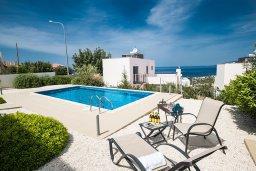 Бассейн. Кипр, Лачи : Фантастическая вилла с 3-мя спальнями и потрясающим видом на Средиземное море, с открытым плавательным бассейном и барбекю