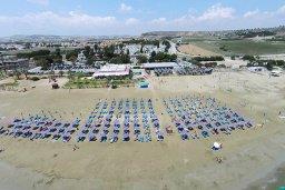 Пляж Larnaka Bay CTO beach в Пиле, Декелия роуд