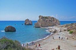 Aphrodite Baths beach / Petra tou Romiou (место рождения Афродиты)