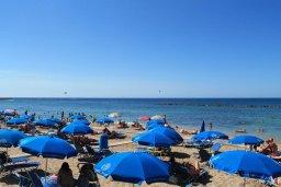 Paphos beach line