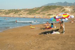 Пляж Turtle Beach в Пафосе