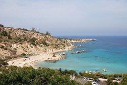 Пляж Коннос Бэй / Konnos Bay Beach в Коннос Бэй (Капо Греко)