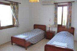 Спальня 2. Кипр, Полис город : Вилла с 2-мя спальнями, с бассейном,  зелёной территорией с патио и барбекю, расположена в Лачи