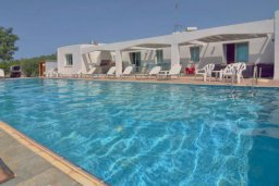 Бассейн. Кипр, Си Кейвз : Вилла с 4-мя спальнями, с бассейном, патио и барбекю, расположена в Coral Bay