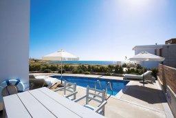 Бассейн. Кипр, Пафос город : Уютная вилла с бассейном и солнечной террасой, расположена в Пафосе