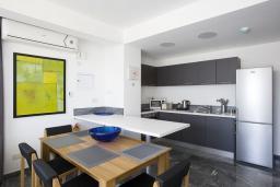 Кухня. Кипр, Пафос город : Уютная вилла с бассейном и солнечной террасой, расположена в Пафосе