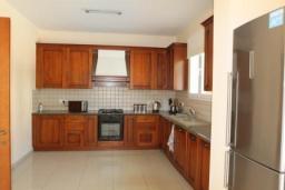 Кухня. Кипр, Ларнака город : Вилла с 3-мя спальнями, с бассейном и приватным двориком, расположена в Ларнаке