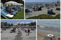Пляж Mediterranean Beach в центре Лимассола