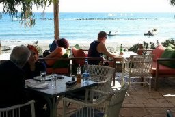 Пляж Famagusta Nautical Beach в центре Лимассола