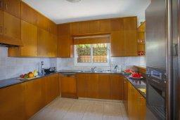 Кухня. Кипр, Пернера : Великолепная современная вилла с панорамным видом на Средиземное море, с 4-мя спальнями, приватной зелёной территорией с патио и барбекю, расположена на побережье около пляжа Kalamies Beach