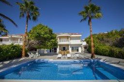 Бассейн. Кипр, Менеу : Шикарная вилла возле пляжа с бассейном и уютным полностью меблированным садом, расположена в закрытом комплексе у пляжа Kiti Beach
