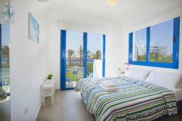 Спальня. Кипр, Пернера : Вилла в греческом стиле с 2-мя спальнями с меблированный уютным патио и барбекю