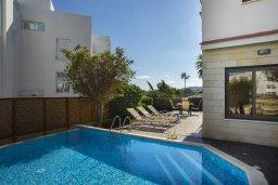 Бассейн. Кипр, Фиг Три Бэй Протарас : Прекрасная вилла с 4-мя спальнями, с бассейном, солнечной террасой с патио и каменным барбекю, расположена в центре Протараса около пляжа Fig Tree Bay