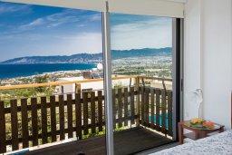 Балкон. Кипр, Лачи : Потрясающая вилла с 3-мя спальнями, с панорамным видом на море и горы Troodos, с бассейном и солнечной террасой