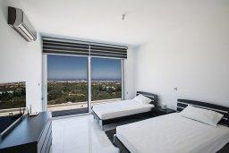 Спальня 3. Кипр, Санрайз Протарас : Шикарная вилла с панорамным видом на море, с 3-мя спальнями, с большим бассейном, солнечной террасой с патио и  барбекю