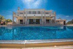 Зелёный сад. Кипр, Санрайз Протарас : Роскошная вилла с панорамным видом на море, с 7-ю спальнями, игровой комнатой, с большим бассейном, прекрасным садом с летней кухней и уличным баром с барбекю, расположена в тихом и живописном районе St. Elias