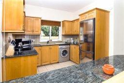 Кухня. Кипр, Пейя : Великолепная вилла с видом на море, с 3-мя спальнями, с бассейном, солнечной террасой и барбекю