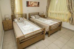 Спальня 3. Кипр, Пейя : Великолепная вилла с видом на море, с 3-мя спальнями, с бассейном, солнечной террасой и барбекю