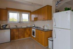 Кухня. Кипр, Пейя : Двухэтажная вилла с бассейном, большая гостиная, 4 спальни, 4 ванные комнаты, дворик, место для барбекю, парковка, Wi-Fi