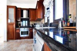 Кухня. Кипр, Корал Бэй : Потрясающая вилла с видом на море, с 3-мя спальнями, с бассейном, с тенистой террасой с патио и кипрским барбекю