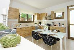 Кухня. Кипр, Ионион - Айя Текла : Потрясающая вилла с 4-мя спальнями, 3-мя ванными комнатами, с бассейном, верандой с патио, lounge-зоной и каменным барбекю, расположена в тихом комплексе в районе Ayia Thekla