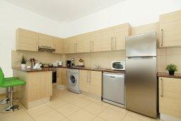 Кухня. Кипр, Фиг Три Бэй Протарас : Современный апартамент с гостиной, двумя спальнями, двумя ванными комнатами и террасой, расположен недалеко от пляжа Fig Tree Bay