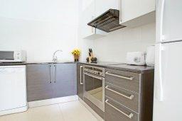 Кухня. Кипр, Фиг Три Бэй Протарас : Современный апартамент с гостиной, отдельной спальней и террасой, расположен в нескольких минутах ходьбы до залива Fig Tree Bay