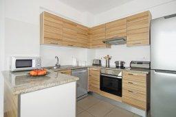 Кухня. Кипр, Фиг Три Бэй Протарас : Современный апартамент с двумя спальнями, двумя ванными комнатами и балконом, расположен в комплексе с бассейном, тренажерным залом и теннисным кортом