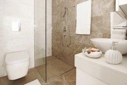 Ванная комната. Кипр, Каво Марис Протарас : Потрясающий апартамент в 100 метрах от пляжа, с двумя спальнями и балконом с шикарным видом на море