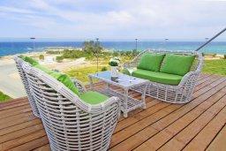 Балкон. Кипр, Каво Марис Протарас : Шикарный апартамент в 100 метрах от пляжа, с двумя спальнями и балконом с шикарным видом на море