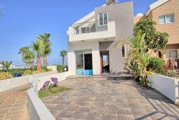 Фасад дома. Кипр, Санрайз Протарас : Современная вилла в 50 метрах от пляжа, с 3-мя спальнями, солнечной террасой с патио и барбекю, расположена у песчаного пляжа Sunrise