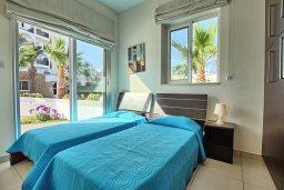 Спальня 2. Кипр, Санрайз Протарас : Современная вилла в 50 метрах от пляжа, с 3-мя спальнями, солнечной террасой с патио и барбекю, расположена у песчаного пляжа Sunrise