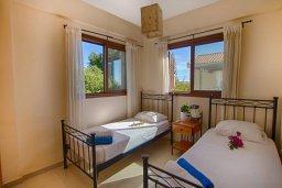 Спальня 2. Кипр, Нисси Бич : Прекрасная вилла с 3-мя спальнями, с бассейном, солнечной террасой и барбекю