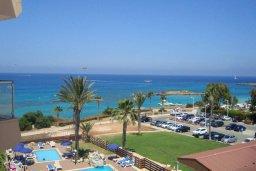 Вид на море. Кипр, Фиг Три Бэй Протарас : Уютный апартамент с 3-мя спальнями и шикарным видом на море, в комплексе с общим бассейном